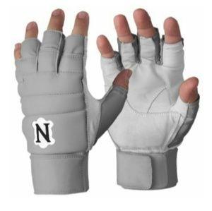 Other - Neumann football workout leather gloves halffinger